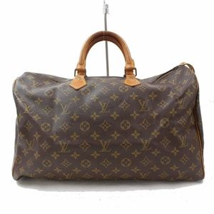 Auth Louis Vuitton Speedy 40 Hand Bag #1398L20